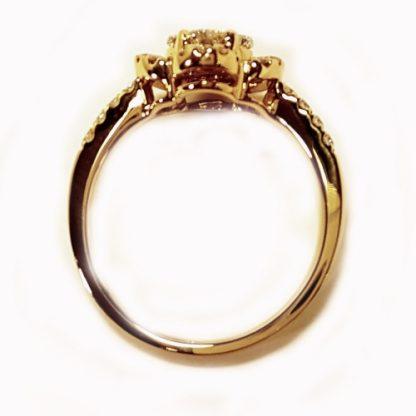 Bague diamants en or jaune Réf. 554