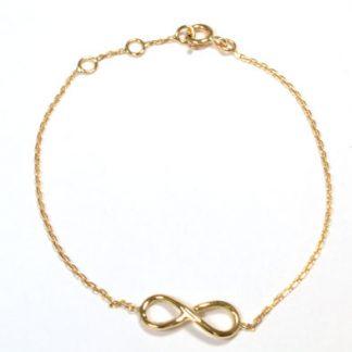 "Bracelet ""infini"" or jaune réf. 1325"