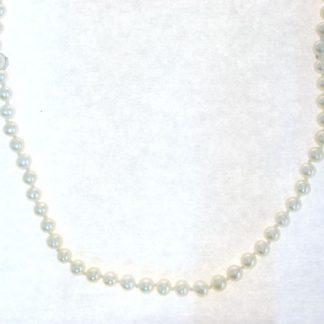 Collier perles eau douces or jaune réf. 831